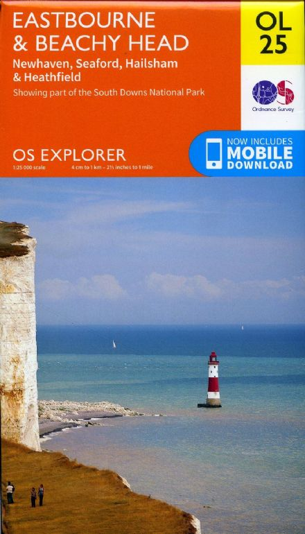 OS Explorer OL 25 - Eastbourne & Beachey Head